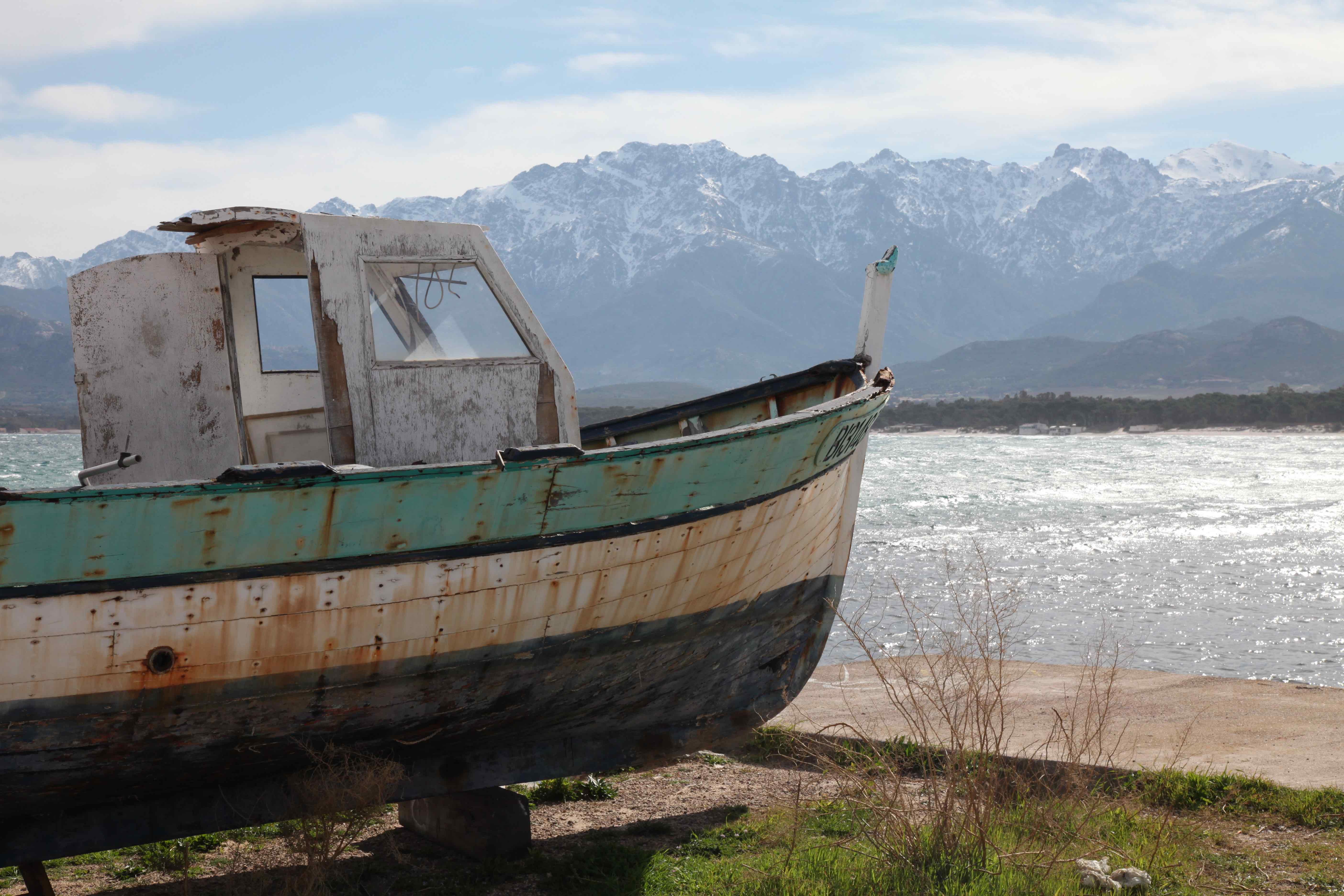 Am Ende einer langen Reise, Calvi, Korsika, Christian von Stosch