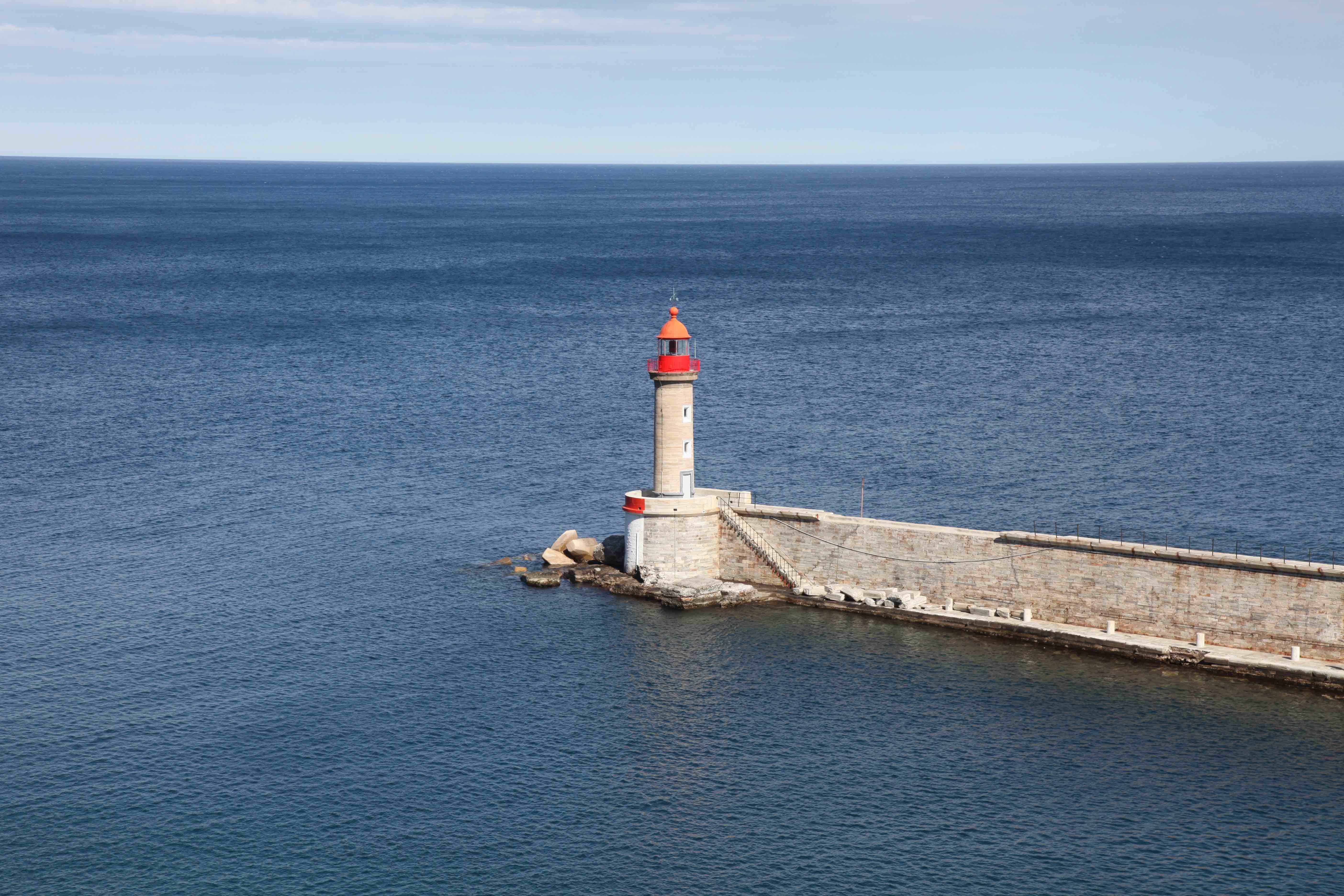 Ruhige See, Bastia, Korsika, Christian von Stosch