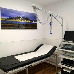 EKG und Lungenfunktion
